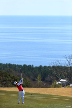 海とゴルファー