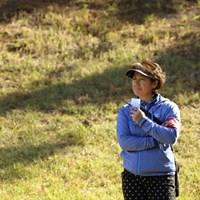 あ、かすみ姉さん。 2014年 大王製紙エリエールレディスオープン 2日目 藤井かすみ