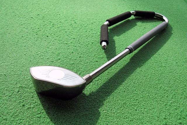 話題の練習器具『ゴルフの竪琴』を試打レポート