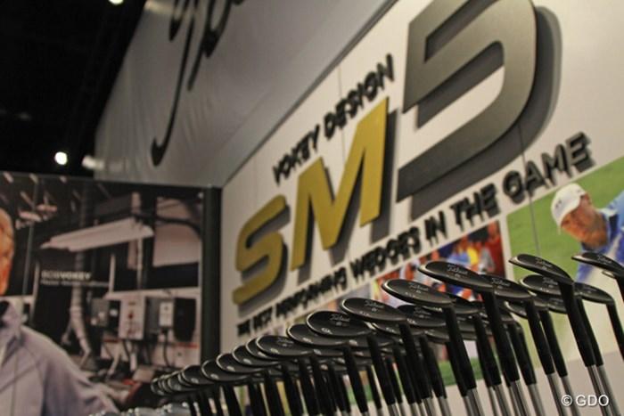 タイトリストの最新ボーケイ『SM5ウエッジ』 2015年 PGAマーチャンダイズショー SM5ウエッジ
