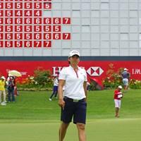 2015年 HSBC女子チャンピオンズ 2日目 ツェン・ヤニ