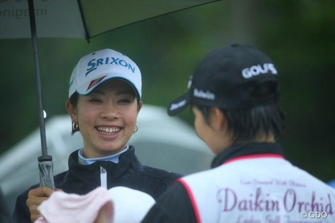 大会好相性の森田理香子が、首位と1打差2