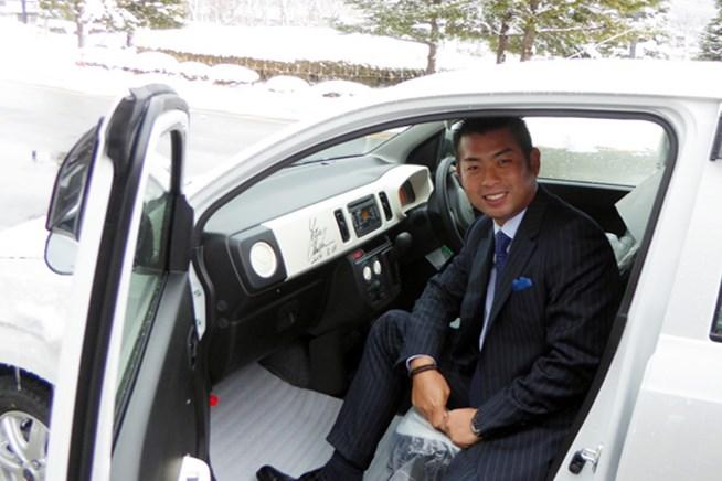 被災地の自治体に日本ツアー選手会が福祉車