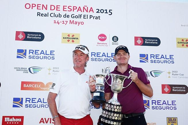 2015年 スペインオープン 最終日 ジェームス・モリソン ミゲル・アンヘル・ヒメネス