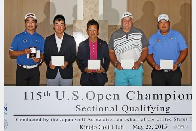 上位5人が「全米オープン」出場権を手に。