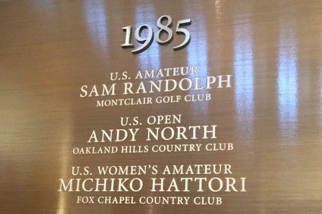 ニュージャージー州にあるゴルフ博物館には