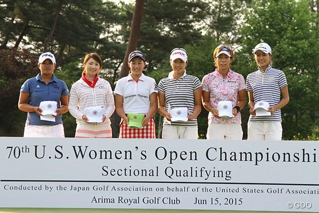 新たに6人が「全米女子オープン」の出場権
