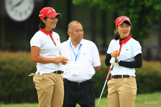 日本女子チームは大会連覇へ単独トップでス