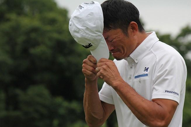 39歳の金子敬一が涙のチャレンジツアー初