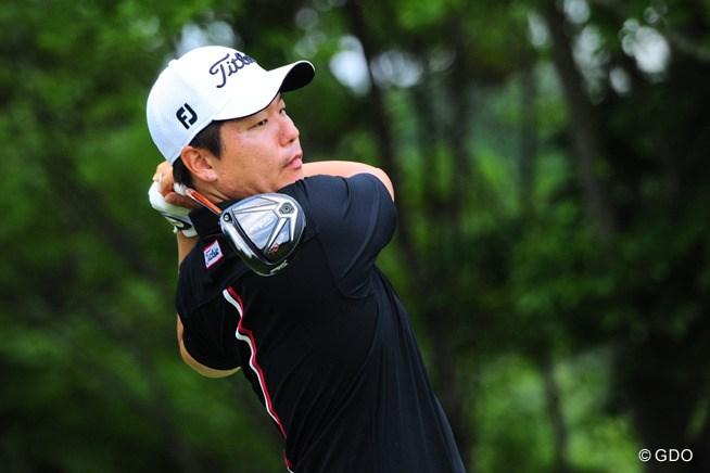 2015年 ミュゼプラチナムオープンゴルフトーナメント 2日目 チョ・ミンギュ
