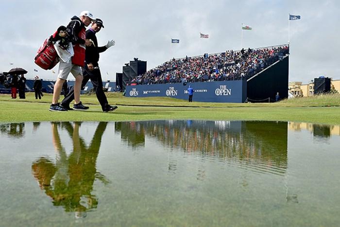 全英オープン2勝を誇るパドレイグ・ハリントン(Stuart Franklin/Getty Images) 2015年 全英オープン 2日目 パドレイグ・ハリントン