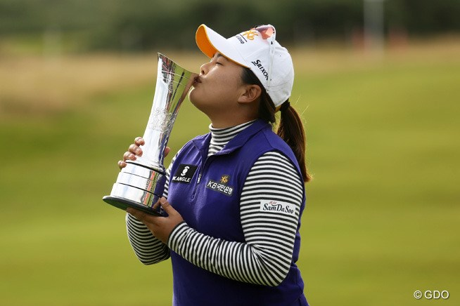 2015年 全英リコー女子オープン 最終日 朴仁妃