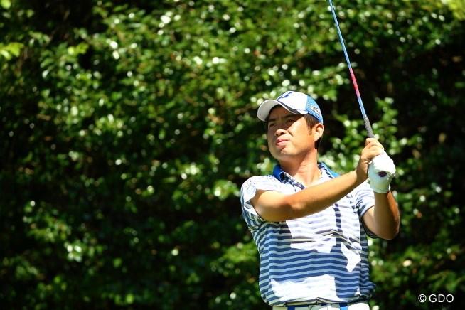 2015年 RIZAP KBCオーガスタゴルフトーナメント 初日 池田勇太