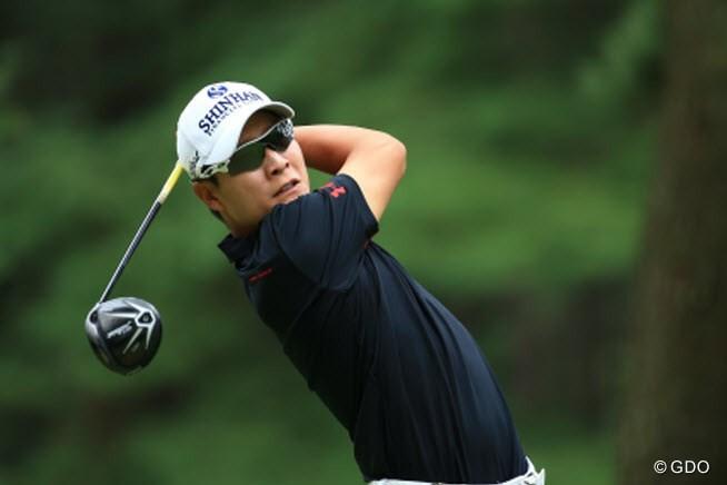 2015年 アジアパシフィック ダイヤモンドカップゴルフ 3日目 キム・キョンテ