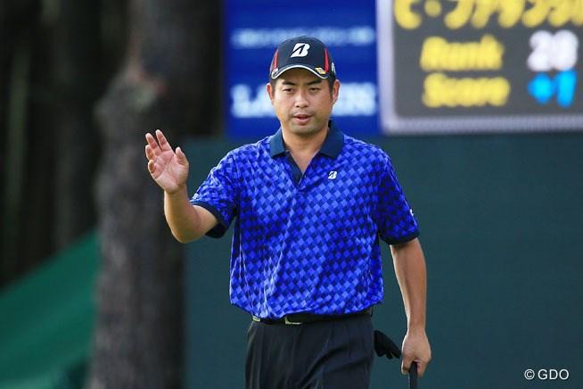 スコアを3つ伸ばした池田勇太。最終日は2