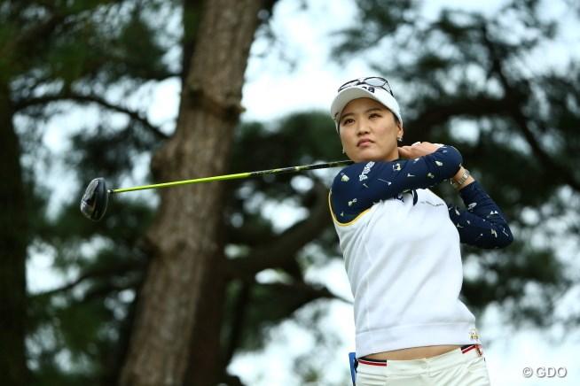 2015年 日本女子オープンゴルフ選手権競技 初日 ユ・ソヨン