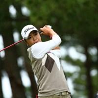 最終組でホールアウト 2015年 日本女子オープンゴルフ選手権競技 初日 三塚優子