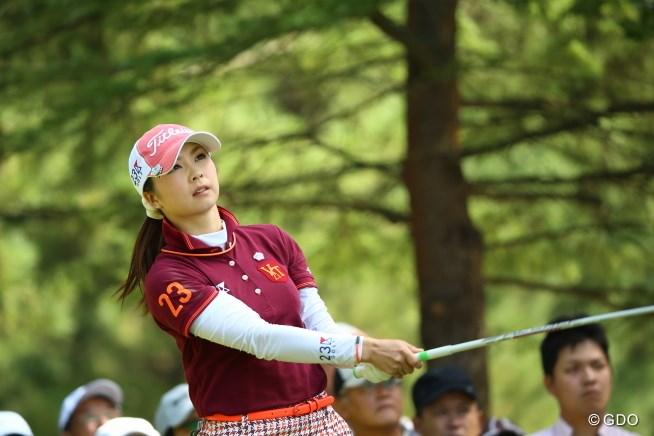 2015年 日本女子オープンゴルフ選手権競技 3日目 菊地絵理香
