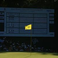 光と陰。今日のプレイヤーを象徴してる。 2015年 日本女子オープンゴルフ選手権競技 最終日 ピン