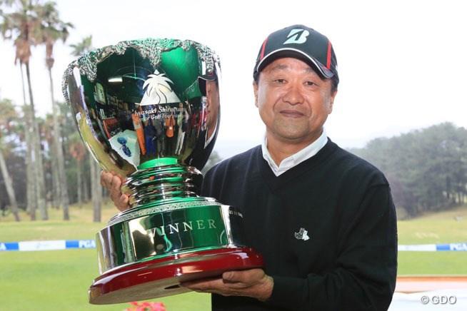 2015年 いわさき白露シニアゴルフトーナメント 事前 倉本昌弘