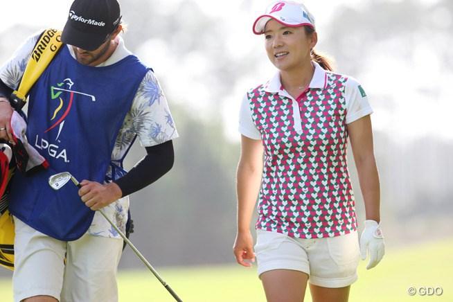 有村智恵が米国女子ツアーの予選会を43位
