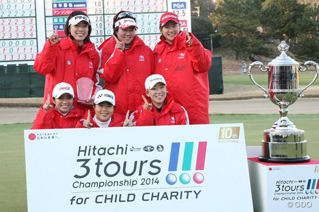 2015年 Hitachi 3Tours Championship 事前 LPGA