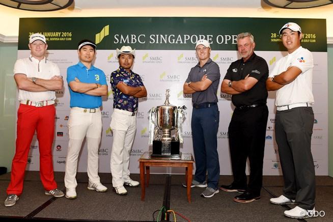 新規大会SMBCシンガポールオープンに出