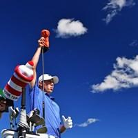 リードを5打差に広げて最終日に入るM.フィッツパトリック(Stuart Franklin/Getty Images) 2016年 ノルデアマスターズ 3日目 マシュー・フィッツパトリック