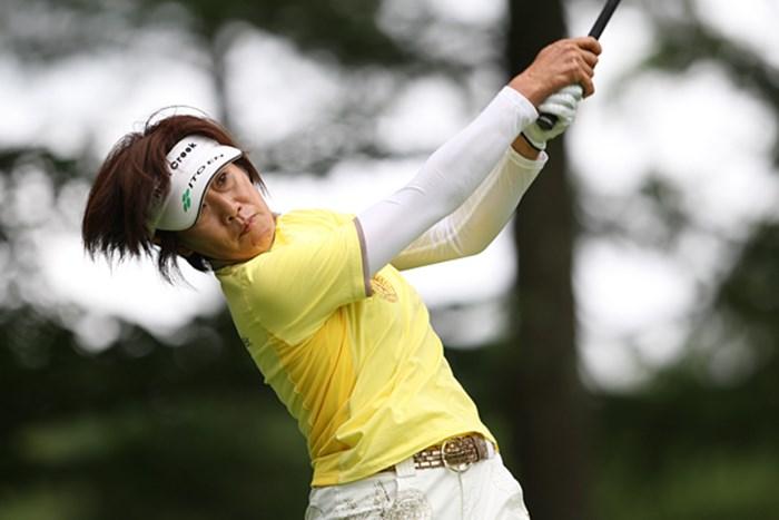 2アンダーと健闘の塩谷プロ 2009年 NEC軽井沢72ゴルフトーナメント初日 塩谷育代