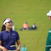 「あんなに長いの入っちゃったニダ」 2016年 日本女子オープンゴルフ選手権競技 最終日 チョン・インジ