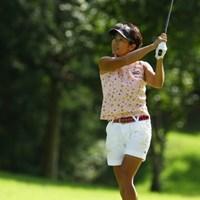 久々にお会いしてビックリ!すごくお痩せになりました。 2009年 日本女子プロゴルフ選手権コニカミノルタ杯 初日 藤井かすみ