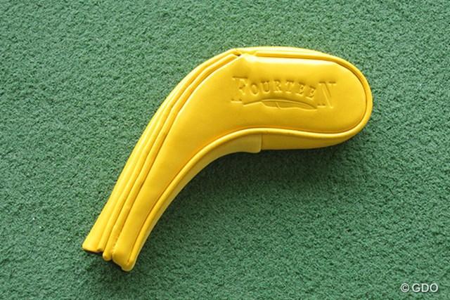 """ヘッドカバーも黄色で""""バナナ""""感を出している"""