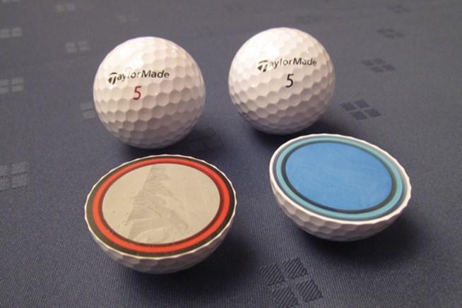 「TP5/TP5x ボール」の断面図。第