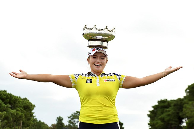 2017年 ISPSハンダ オーストラリア女子オープン 最終日 ジャン・ハナ