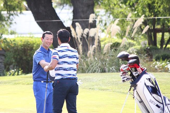 「78」でプレーを終えた桑田真澄氏は、ペ