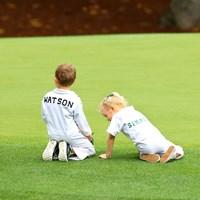ワトソンの長男とシンプソンの長女、すんごいゴルフエリートな幼っ馴染みカップル! 2017年 マスターズ 事前 パー3コンテスト ウェブ・シンプソンとバッバ・ワトソンの子ども