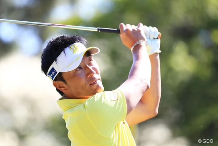 勝利はほぼ手中かと思われたが・・・。プレーオフはOBで惜敗した 2017年 パナソニックオープンゴルフチャンピオンシップ 最終日 宮本勝昌