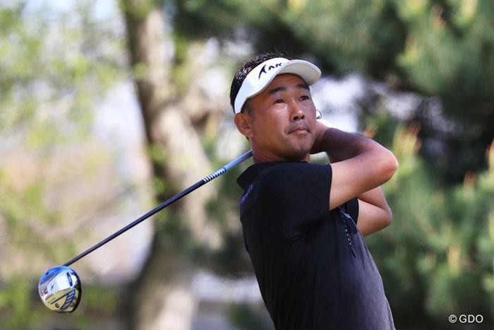 5年ぶりの優勝を遂げた久保谷健一 2017年 パナソニックオープンゴルフチャンピオンシップ 最終日 久保谷健一