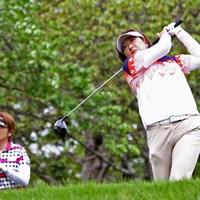 福嶋晃子が今季初戦。開幕前日は前年優勝の妹・福嶋浩子と練習ラウンドをともにした 2017年 サイバーエージェント レディスゴルフトーナメント 事前 福嶋晃子