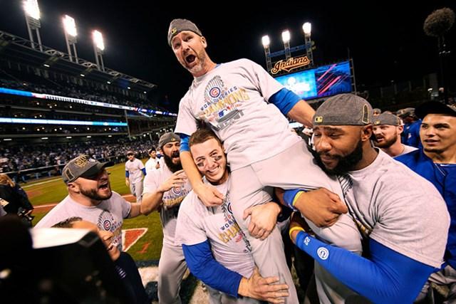 昨年シカゴ・カブスが108年ぶりワールドシリーズを制覇した際、『EPIC Win』と称された(Al Tielemans /Getty Images)