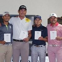 日本の最終予選を通過したのは小平智、チャン・キム、今平周吾、宮里優作の4選手 2017年 全米オープン 事前 全米オープン最終予選