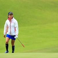 この寒い中、スカートで行けるのは女子高生と光里ちゃんだけだ 2017年 ヨネックスレディスゴルフトーナメント 2日目 藤田光里