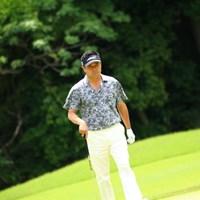 なんだかちょっとウェアが怖い。 2017年 日本ツアー選手権 森ビル杯 Shishido Hills 3日目 横田真一