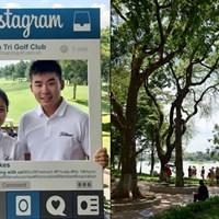 日本から再び東南アジアへ。まずはハノイから。写真右がホアンキエム湖の公園です 2017年 クイーンズカップ 事前 川村昌弘