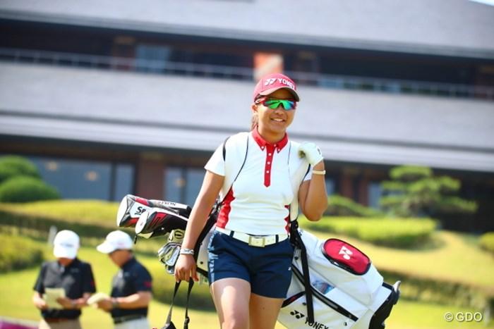 サングラスが似合う南国沖縄娘。 2017年 トヨタ ジュニアゴルフワールドカップ 最終日 佐渡山理莉