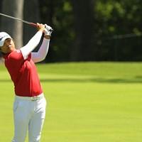 ずいぶん引き締まった?野村敏京は最近になってようやく本格的なトレーニングを開始した 2017年 KPMG女子PGA選手権 最終日 野村敏京