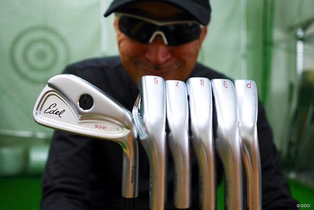 ゴルフがシンプルになる『イーデルゴルフ シングルレングスアイアン SLS-01』をマーク金井が徹底検証