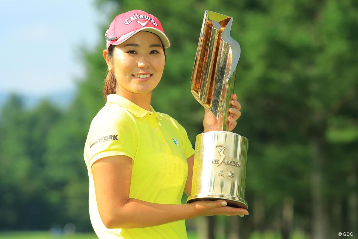 2017年 NEC軽井沢72ゴルフトーナメント 最終日 比嘉真美子