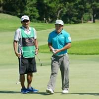 先週は1億円を稼いだ藤本佳則 2017年 RIZAP KBCオーガスタゴルフトーナメント 事前 藤本佳則