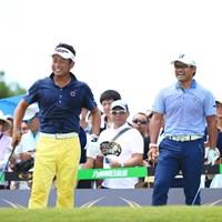 宮里優作と同組でプレー 2017年 RIZAP KBCオーガスタゴルフトーナメント 2日目 池田勇太